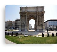 Marseillais Arch, Marseilles, France 2012 Canvas Print