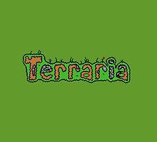 Terraria logo, by ThijsDekker