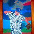 Josh Beckett of Florida Marlins by Joni Philbin