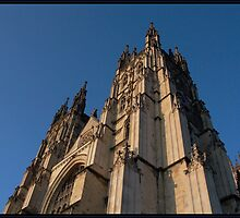 Canterbury Cathedral by Rowan  Lewgalon