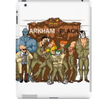 Arkham is the New Black iPad Case/Skin