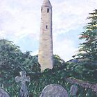 Irish Round Tower by jkarlin