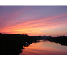 Sunset on Town Lake Photographic Print