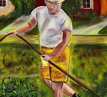 Weekend Gardener by hickerson