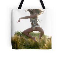 Leap for Joy : photograph Tote Bag
