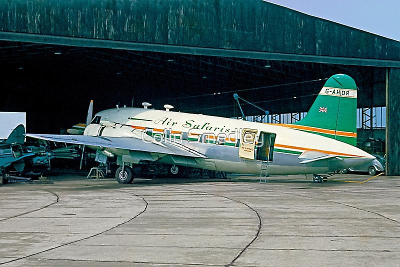 Air Safaris Viking 1B G-AHOR by Colin Smedley