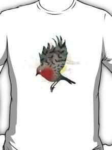 Bats and a Robin T-Shirt