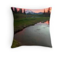 Embers in the Clouds Throw Pillow