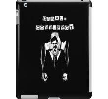 Oswald Cobblepot iPad Case/Skin