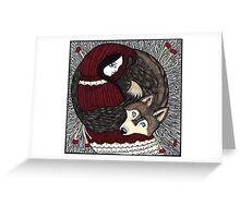 All the Better to See you With Greeting Card