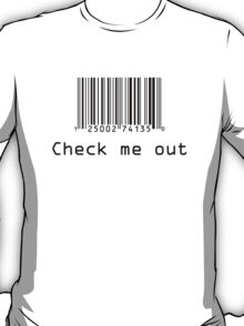 Check Me Out (Barcode) T-Shirt