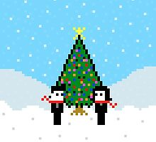 Pixel Love Christmas by Joseph Uzzo