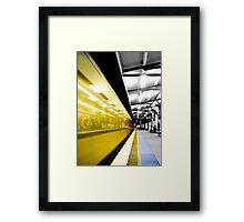Departure Framed Print