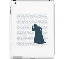 The Witch's Rap iPad Case/Skin