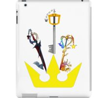 Kingdom Hearts United Keyblades iPad Case/Skin