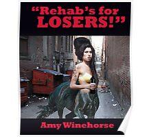 Amy Winehorse (Rehab) Poster
