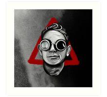 Depeche Mode : Goggles Martin Lee Gore & 2013's Delta  Art Print