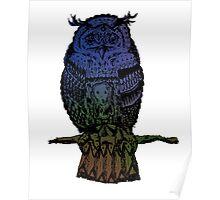 seaside owl Poster