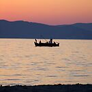 Greek fishing boat by kevomanno