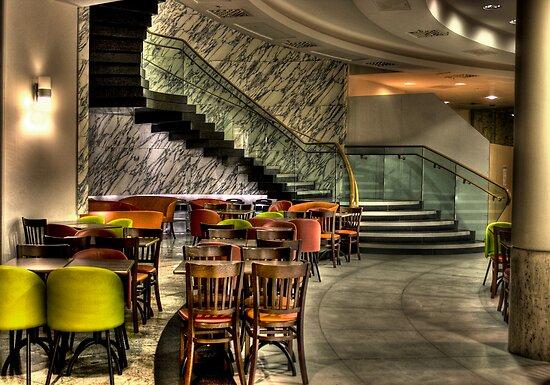 Seats Under Stairs by Dave Warren