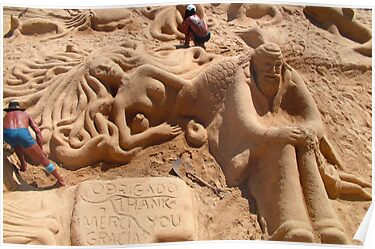 Sand Sculptures by Tom Gomez