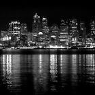 Seattle Night by Cliff Worsham