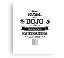 Master Roshi Dojo v2 Canvas Print