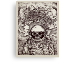 Space Devil Canvas Print
