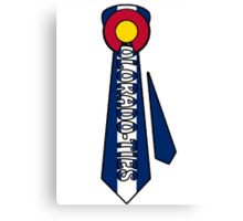 Colorado Ties Canvas Print