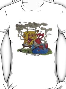 Sponge Bob Stoned Pants T-Shirt
