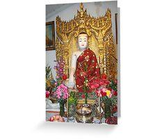 Budda Temple in Rowland Heights, CA USA Greeting Card