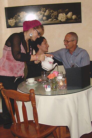 Breast Cancer Awareness Tea - Sweet Divas Bistro & Cottage, Brea, CA, USA by leih2008