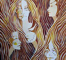 Tree Spirits by Deborah Holman