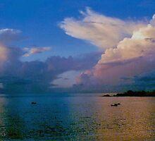 Dramatic Sky - Tobago WI by John Brotheridge