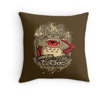 The Mighty ToThoro Throw Pillow
