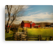 Bought The Farm Canvas Print