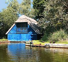 Blue Boathouse by BizziLizzy
