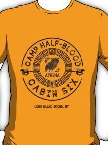 Percy Jackson - Camp Half-Blood - Cabin Six - Athena T-Shirt
