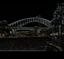sydney harbour bridge by michael charlwood