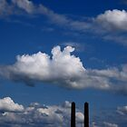 industrial sky by Giuseppe Moscarda