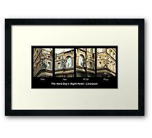 Hard Day's Night Hotel - Liverpool Framed Print