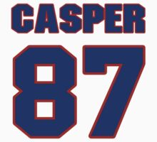 National football player Dave Casper jersey 87 by imsport