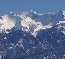 Sangre De Cristo Mountains by Jody Johnson
