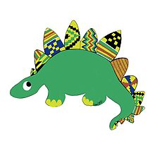 Kente Dino by JanaiMacklin