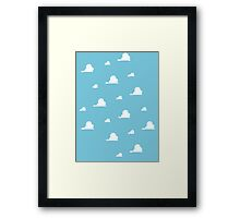 Andy's Clouds! Framed Print