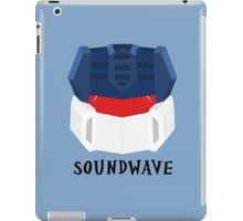 Soundwave [G1] iPad Case/Skin