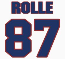 National football player Butch Rolle jersey 87 T-Shirt