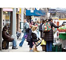 Busy City Photographic Print