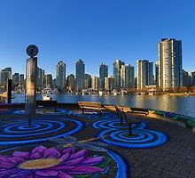 Yaletwon And False Creek Vancouver by Eti Reid