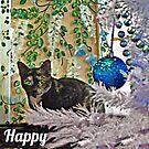 Feline Happy Holidays by Jane Neill-Hancock